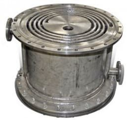 Опросный лист на спиральный теплообменник