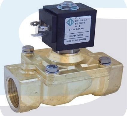 Клапаны запорные (отсечные) с электромагнитным приводом ЗК-М