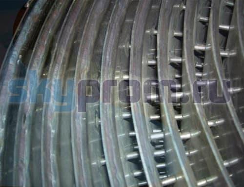 Производство спиральных теплообменников Кожухотрубный конденсатор ONDA L 56.301.2438 Хасавюрт
